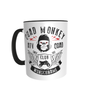 Quad-Monkey Tasse